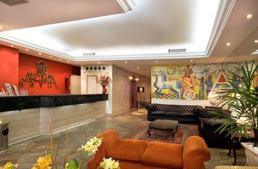 rio-carnival-package-augustos-hotel-reception