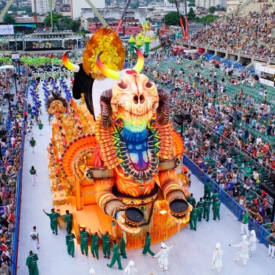 Rio Carnival Sector 12 Open Front Box Frisa Ticket
