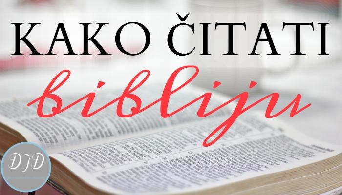 Kako čitati Bibliju