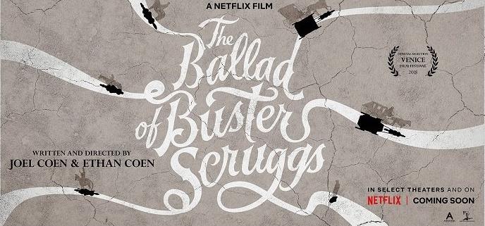 La ballade de Buster Scruggs de Joel et Ethan Coen - Critique