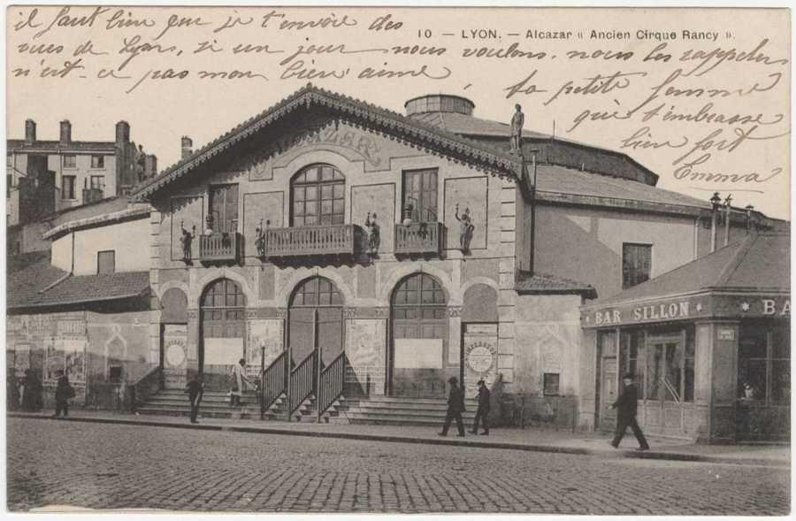 Le Nouvel Alcazar vers 1908