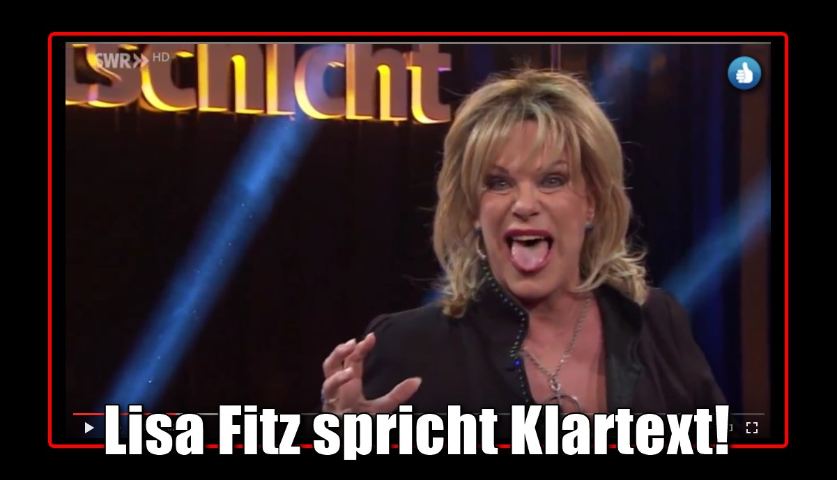 [ Lisa Fitz: } Über Kabarettisten und andere Hofnarren des Systems!