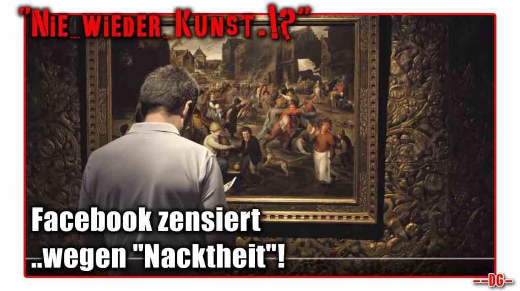 Nie wieder Kunst.!? Alte Meister werden zensiert!