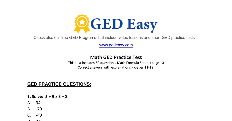 Week 15 Homework Adv Math Printable Ged Math Practice Test2 Do The Odd Numbers