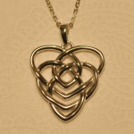 Motherhood Knot Necklace - Silver