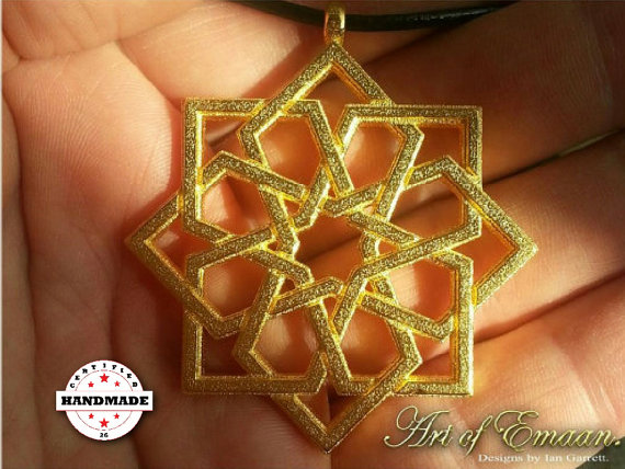 Arabesque Star Knot Pendant