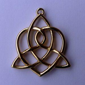 Celtic Sisters' Knot Pendant