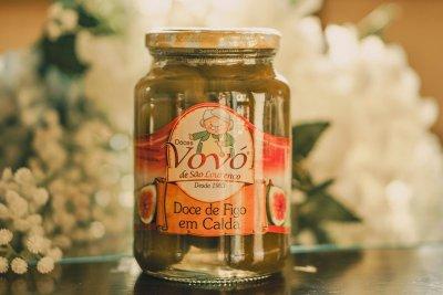 Ponto perfeito da calda para o doce de figo