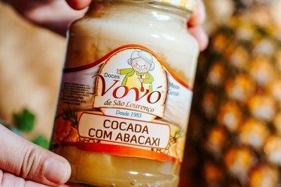 O melhor lugar para comprar cocada feita com abacaxi