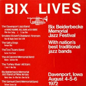 Doc Evans LP Bix Lives