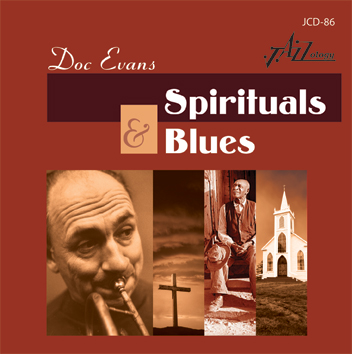 Cover image of Doc Evans Spirituals & Blues CD