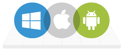 Windows Apple Android