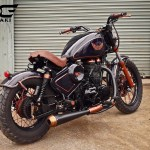 Copper, Bobber, royale Enfield, Custom Motorcycle