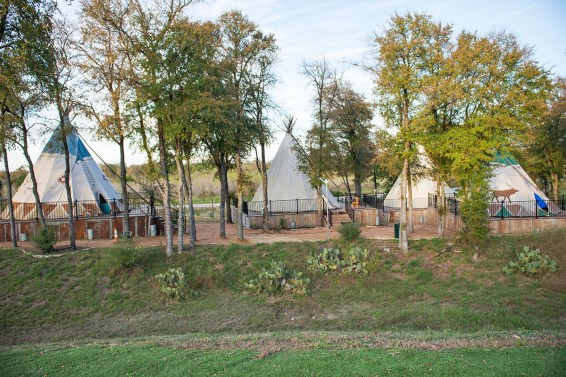 The Tipis are also part of the Community Inn and can accommodate larger groups.