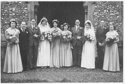 Betty Rope, Alan Dunsdon, John Woodhouse, Diana Woodhouse, Joy Skoyles, Isabel Card, Ronald Tilson, Marie Tilson, Walter Tilson and Margaret Todd.