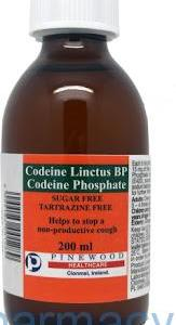 codeine dry cough linctus