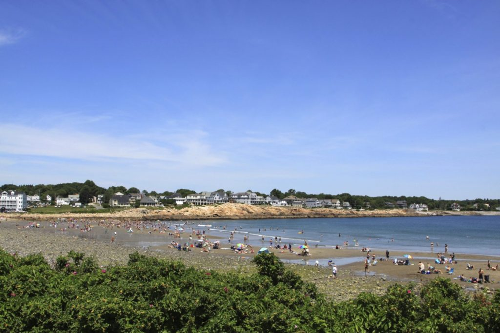 Take A Stroll On Long Sands Beach In York Me