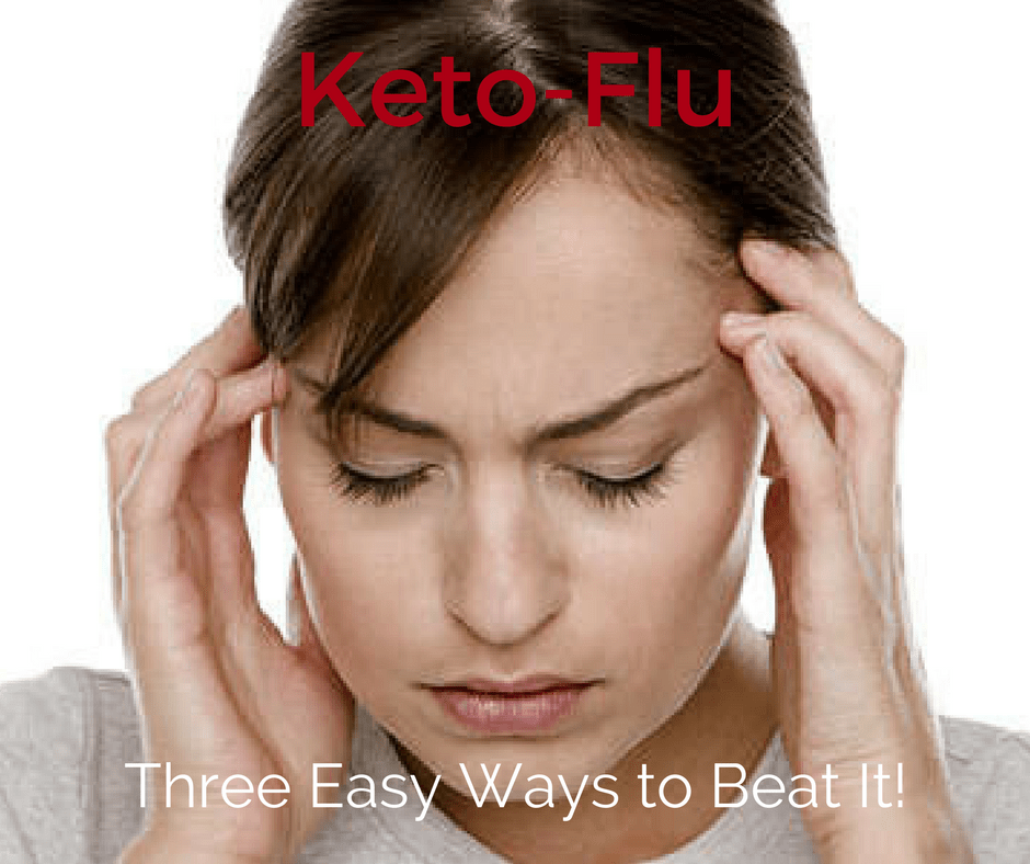 What is the keto-flu and what steps can be taken to prevent it?