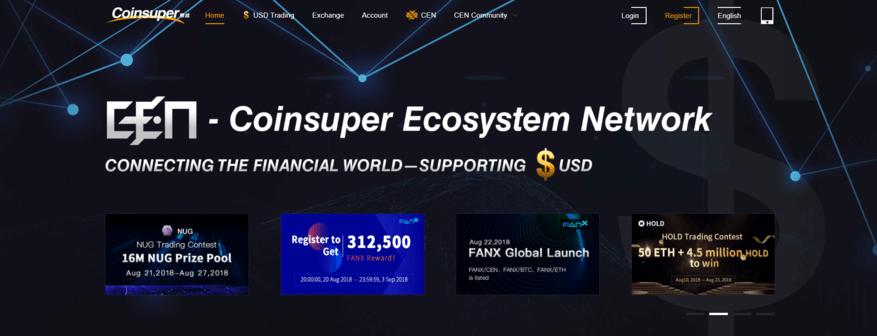 coinsuper cryptocoin exchange