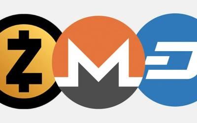 Zcash vs Monero vs Dash – What is the Best Privacy Coin?