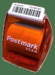 Postmark Label Dispenser - Orange