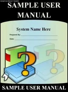 User Manual Template  Instruction Manual Template Word