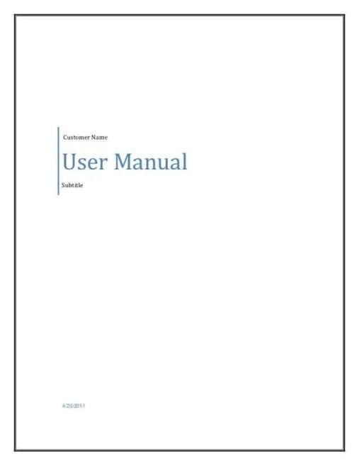 user manual 196741