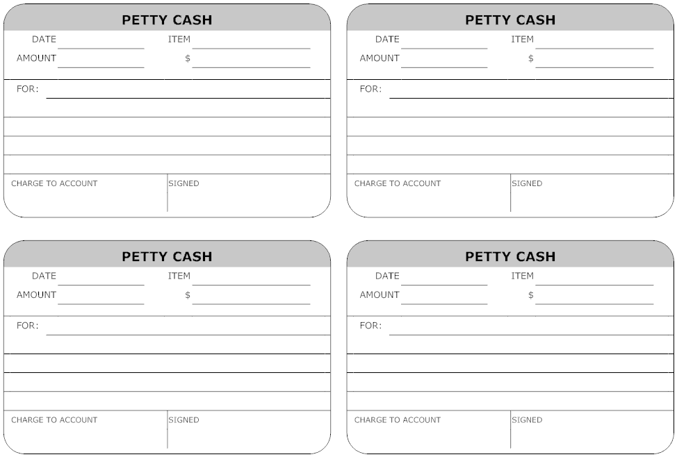 Top 5 Layouts Of Petty Cash Templates   Word Templates, Excel .  Petty Cash Voucher Format