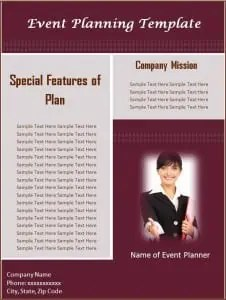 Download Free Event Planning Template: