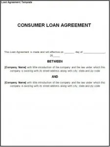 Loan Agreement Template  Free Loan Document Template