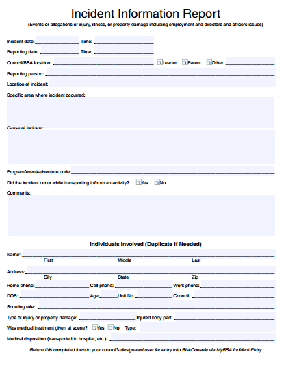 incident report template 39741