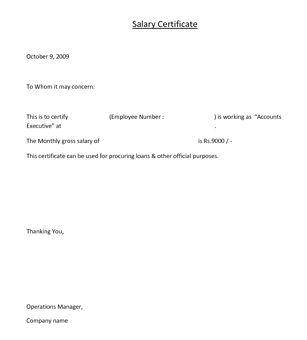 Certification Letter Training bank certification letter jehanzaib – Working Certificate Format