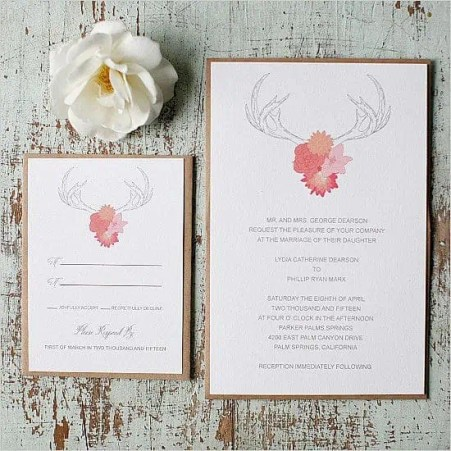 wedding invitation template 245