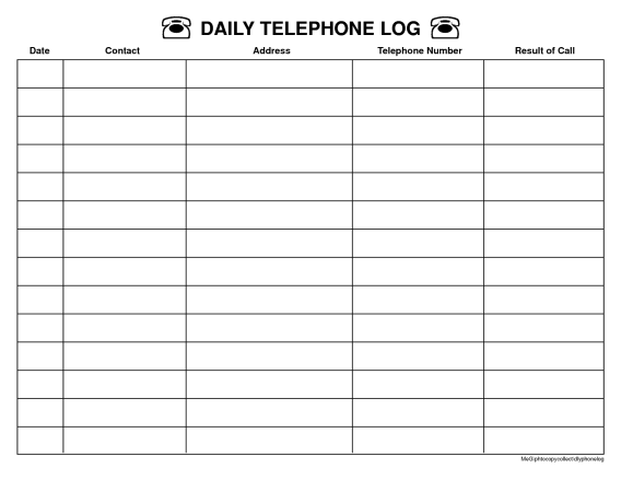 top 5 resources to get free call log templates
