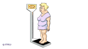 Heart failure causes an abnormal elevation in your weight