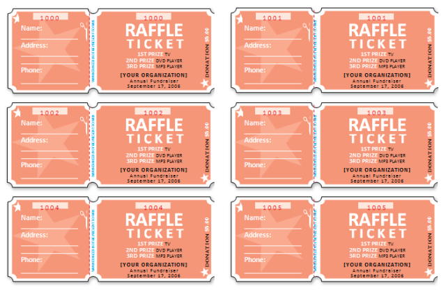It's just a picture of Satisfactory Printable Raffle Tickets With Stubs