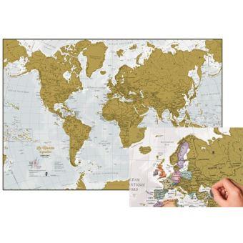 Les meilleures cartes du monde à gratter > Comparatif, Test et Avis