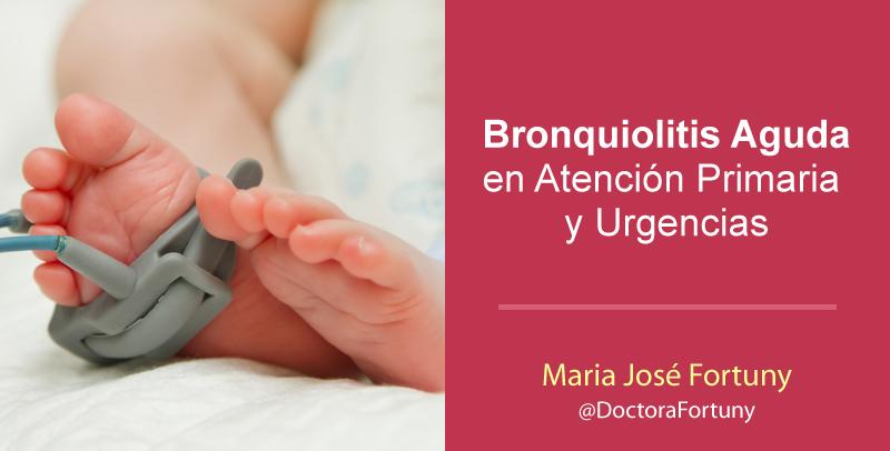Bronquiolitis Aguda en Atención Primaria y Urgencias
