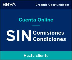 cuenta online bbva sin comisiones