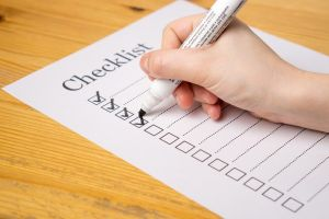 checklist presupuesto anual