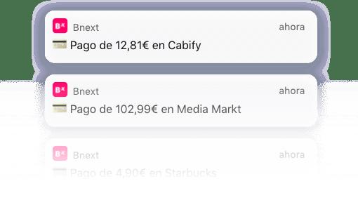 notificaciones bnext