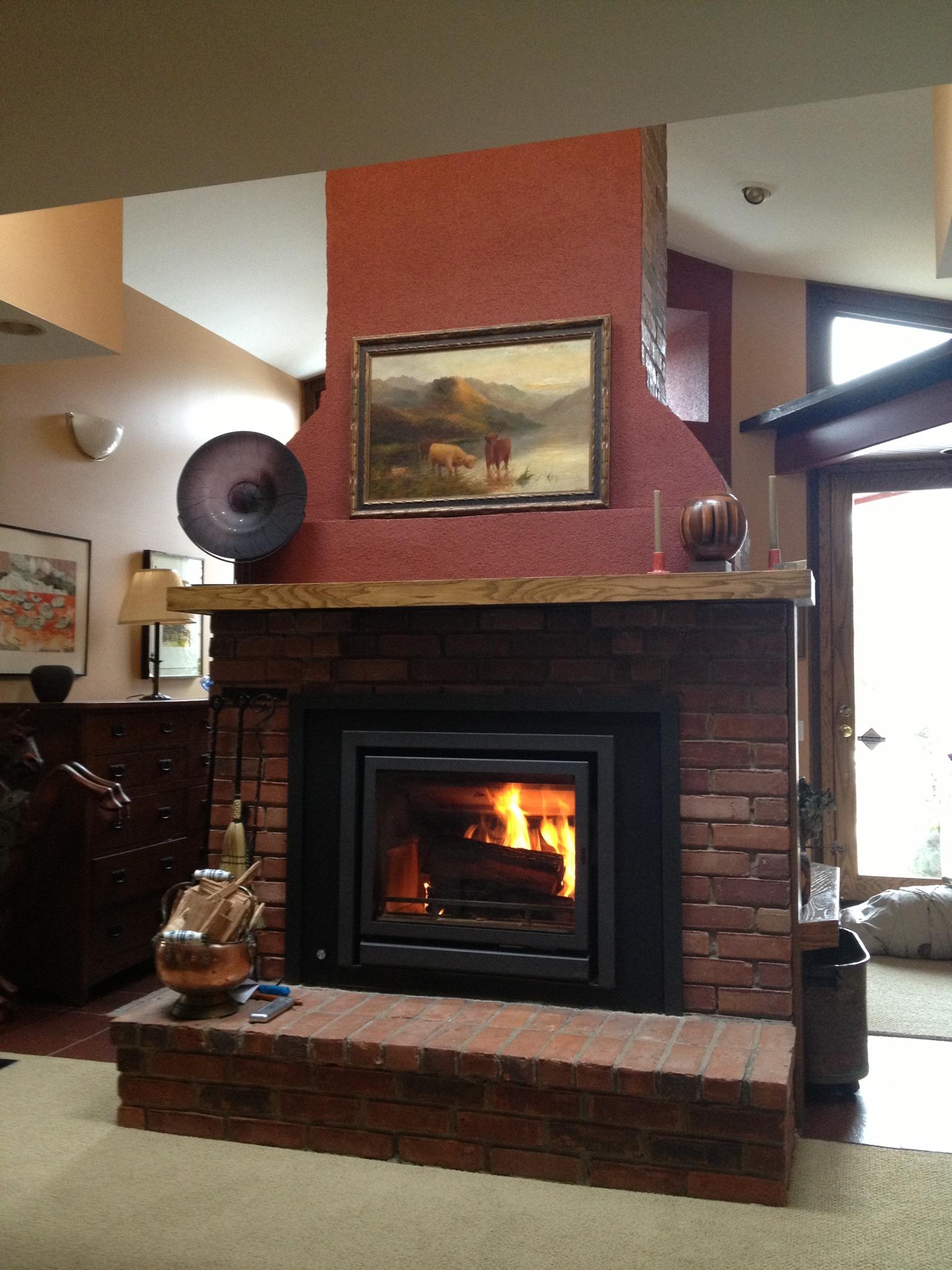 Fireplace Damper Operation