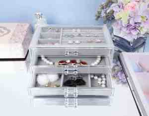makeup jewelry organiser valentines day gift