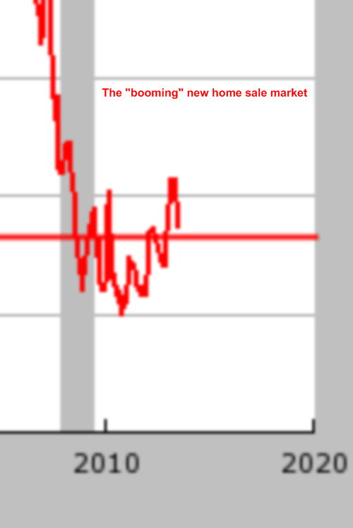 booming new home sales