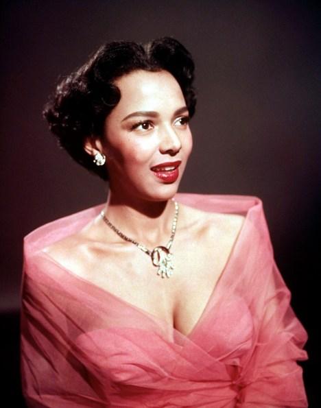 1950's style icon Dorothy Dandridge