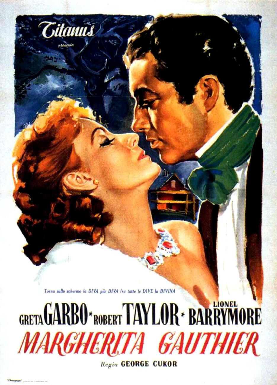 Poster do filme A Dama das Camélias