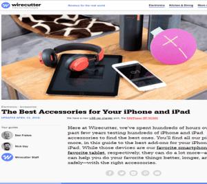 أفضل الملحقات لجهاز iPhone و iPad.