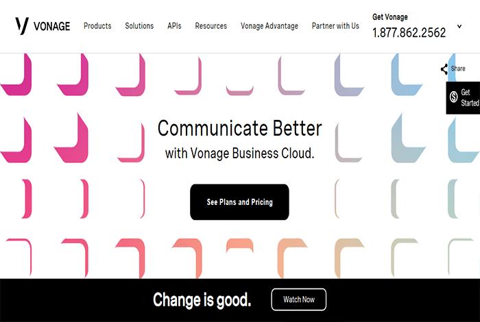 Vonage هي خدمة هاتف أعمال ممتازة أخرى بها الكثير من الميزات لجعل اتصالات عملك أكثر فاعلية.