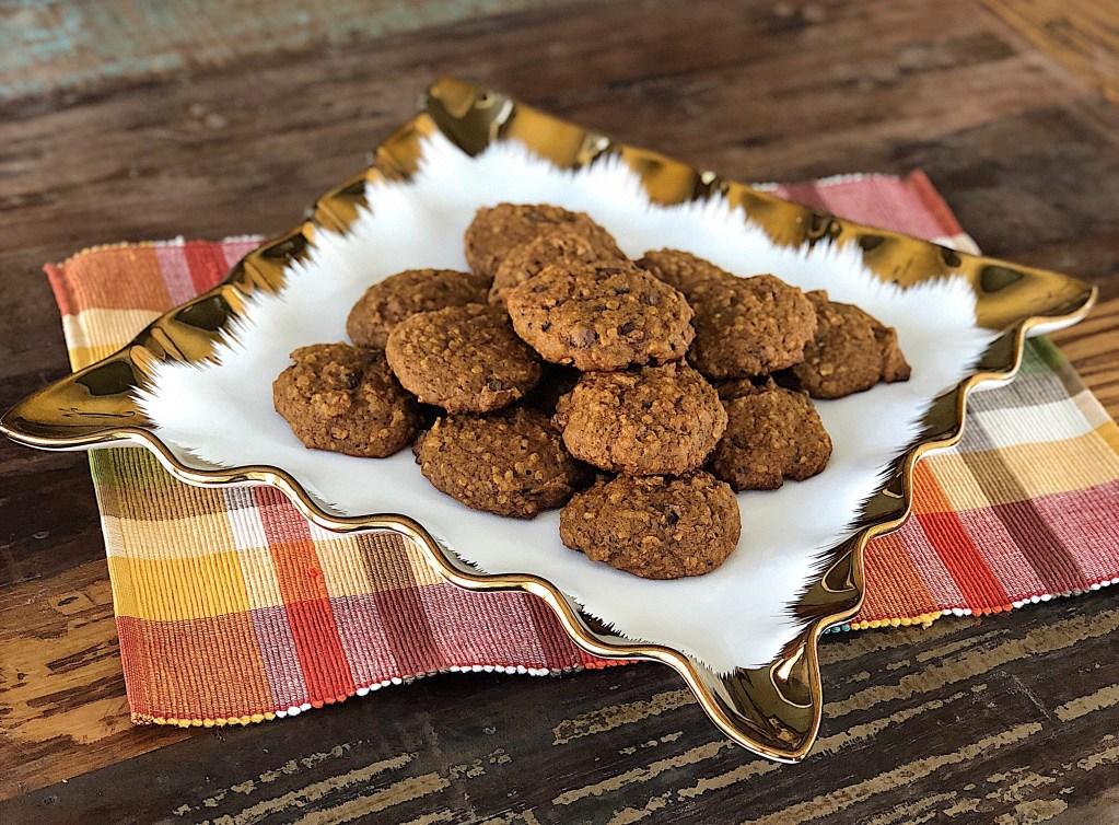 Pumpkin Spice Lactation Cookies