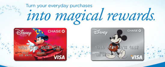 DIsney Visa Credit Card From Chase ` Earn $200
